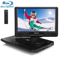 "12"" Full HD 1080P Tragbarer Blu ray Player DVD Moniter Heimkino HDMI AKKU USB CD"