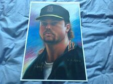 Mark McGwire Portrait Poster 17 x 11
