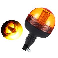 LED lampeggiante ambra Beacon DIN Pole Mount trattore strobo spia di