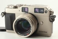 N.MINT+】Contax G1 Rangefinder Camera, Carl Zeiss Planar 45mm Lens from JAPAN#D24