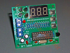 Digital-thermometer Temperaturregler DIY Kit Bausatz AT89C2051+DS18B20 -55/125°C