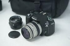 Pentax K100 DSRL Digital Camera with Pentax 35-80mm Lens & Pentax 50mm F2 lens
