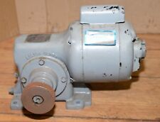 Boston gear speed reducer 18 rpm 1/4 hp motor 36 to 1 ratio barbecue pig spit