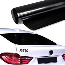 6,14€/m² 76x300cm TÖNUNGSFOLIE Schwarz Black Plus 85% Scheiben Folie Auto