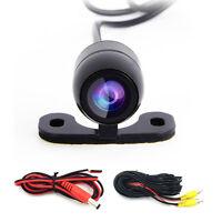 170° Mini Waterproof HD CCD Car Rear View Reverse Backup Camera USA