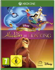 Xbox One Disney Classic Games Aladdin and the Lion King nuevo