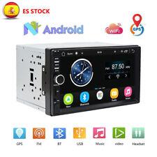 2 Din 7 '' TFT Pantalla táctil GPS Android 6.0 Car Stereo Radio Car MP5 Player