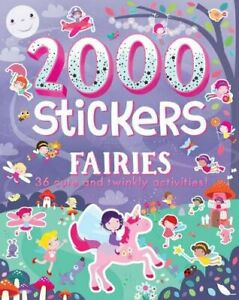 2000 Sticker Book - Fairies  - New