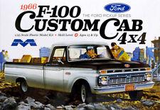 1966 Ford F-100 Custom Cab 4x4 Pickup 1:25 Model Kit Bausatz Moebius 1236