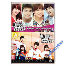 Panda and Hedgehog- Korean Drama (4 DVD) Excellent English Subs & Quality.