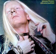 JOHNNY WINTER - STILL ALIVE AND WELL - CBS # S 65484 (ORANGE LBL) - U.K. LP -'73