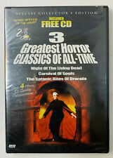 Night Of The Living Dead/Carnival Of Souls/The Satanic Rites of Dracula (DVD,...