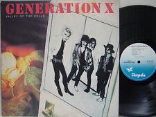 Generation X - Valley of the Dolls (Rare Us Press on Chrysalis, Billy Idol) M-
