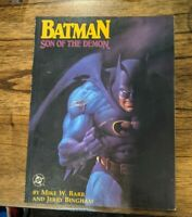 Batman Son of the Demon Graphic Novel 1987 First Appearance of Damien Wayne