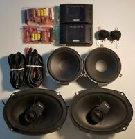 Boston Acoustics Pro Series 6.5x 6.5LF Component Speakers Old School SQ!