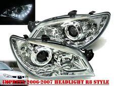 Customized-Impreza 06-07 Projector HEADLIGHT DRL  R8 WRX STI Chrome for SUBARU