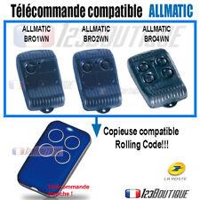 Télécommande copieuse ALLMATIC BROWN  ROLLING CODE TOURNANT PORTAIL GARAGE