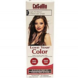 CoSaMo Hair Color #775 Light Ash Brown - Compares to Clairol Loving Care #75