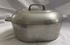 New listing Vintage Magnalite 8 Quart Covered Roaster/Dutch Oven Made In Usa Euc