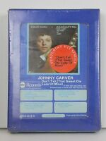 New NOS Johnny Carver Vintage 8 Track Tape Cartridge SEALED 1974 Country Music