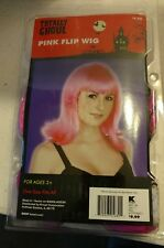 Pink Flip Wig Totally Ghoul.  Brand New in Package.