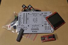 Kitco Neige - Kit electronique Arduino Console jeu video Atmega Souder Blanc