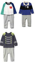 New Gap Baby Boys One Piece Romper Size 6-12 M, 12-18 M, and 18-24 M