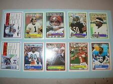 165+ 1983 TOPPS NFL FOOTBALL Mike Singletary Payton Anderson LT Taylor M Allen