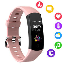 Women Smartwatch Body Temperature Heart Rate Sleep Monitor for Android iPhone