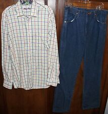 Butter Movie Wardrobe Screen Worn Hero Shirt Jeans Ty Burrell Mens Clothing Prop
