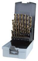 RUKO 25pcs. Cobalt Drill Bits Set 1 - 13mm, HSS-Co5 made in Germany HIGH QUALITY