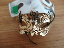 Masquerade Gold Metal Mask