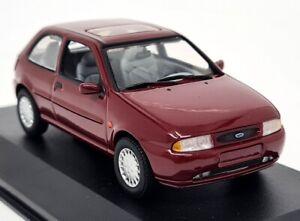 Minichamps 1/43 - Ford Fiesta MK4 1995 Dark Red Diecast Scale Model Car BE91