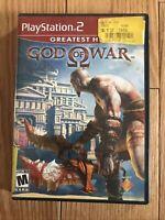 God of War (PlayStation 2, 2005) No Booklet