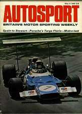Autosport May 9th 1969 *Spanish Grand Prix & Targa Florio*