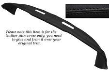 Haut Noir Stitch peau cuir de tableau de bord Dash couvrir fits LOTUS ELAN +2 1967-1975