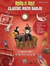 Classic Rock Banjo Sheet Music Just for Fun Series Banjo Book NEW 000322272