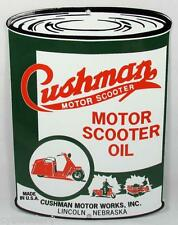 1958 Cushman Motor Scooter Oil Can  Refrigerator Magnet
