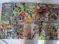 JUSTICE LEAGUE QUARTERLY : COMPLETE 17 issue 1990 DC series by GIFFEN, DeMATTEIS