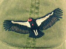 Condor Vulture Embroidered Cotton Cap NEW California