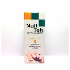 Nail Tek Foundation II x2 Ridge-Filling Nail Strengthener Base Coat!!!
