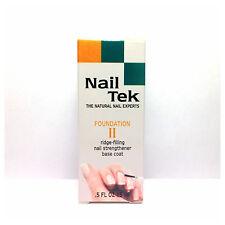 NAIL Tek Foundation II ridge-filling NAIL STRENGTHENER BASE COAT a buon mercato a basso prezzo!!!