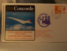 Enveloppes Concorde  4 enveloppes  British airways