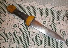 King Arthur Ganis' Woad Warrior Dagger Original Costume Prop Guinevere