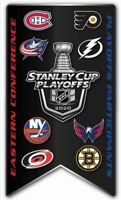 2020 NHL EASTERN CONFERENCE PIN PLAYOFF PARTICIPANT STANLEY CUP FIRST 1ST ROUND