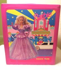 Vintage 1992 Barbie Fashion Trunk Carrying Case Mattel, Inc