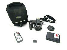 Sony Cyber-shot DSC-H7 8.1MP Digital Camera w/ Accessories & Camera Bag