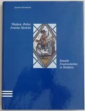 """""""Wappen, Reiter, fromme Sprüche"""" Fachbuch Fensterbierscheiben Bleiverglasung"""