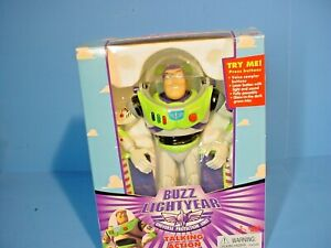 Buzz Lightyear Ultimate Talking Action Figure (1995) Thinkway New In box