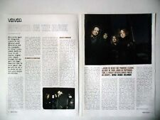 """COUPURE DE PRESSE-CLIPPING :  VOIVOD / Jason NEWSTED [4pages] 2003 Denis """"Snake"""""""